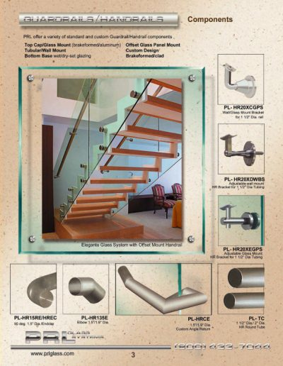 Guardrail & Handrail Components
