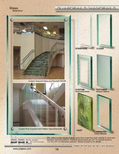 Guardrail & Handrail Glass Selection