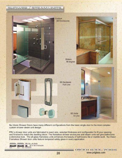 Shower & Steam Units