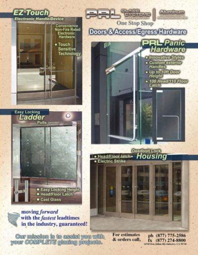 Doors & Access Egress Hardware