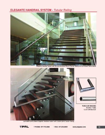 Elegante Handrail System - Tubular Railing