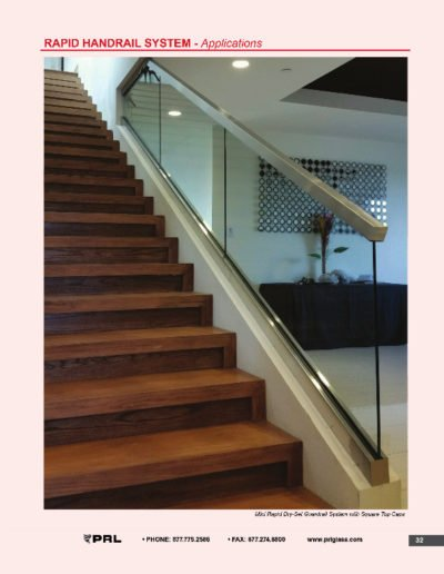 Rapid Handrail System - Applications