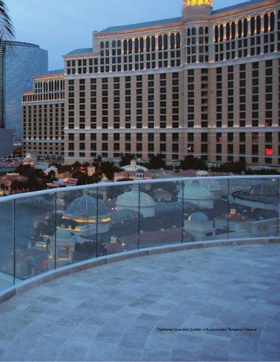 Wet Glazed Handrail System