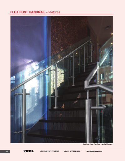 Flex Post Handrail System - Features