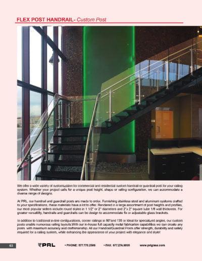 Flex Post Handrail System - Custom Post
