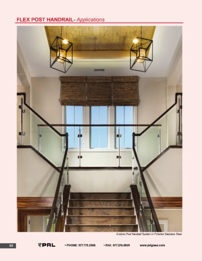 Flex Post Handrail System - Applications