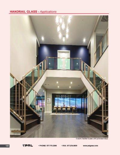 Handrail Glass - Applications