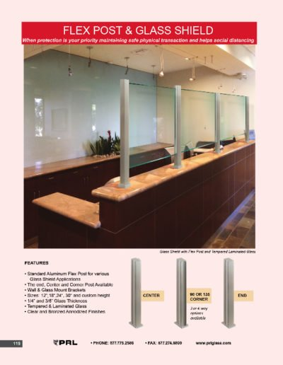 Flex Post & Glass Shields