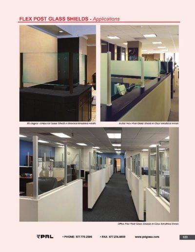 Flex Post & Glass Shields - Applications