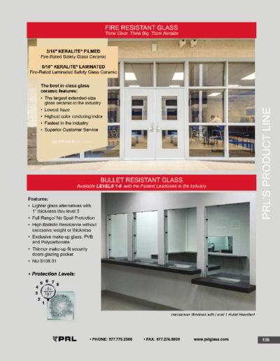 Fire & Bullet Resistant Glass