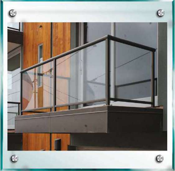 Complete handrail systems for all your patio applications.