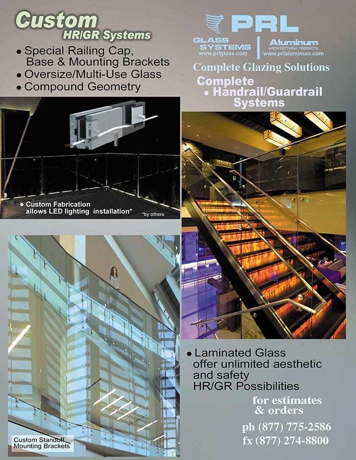 Custom Handrail Specifications