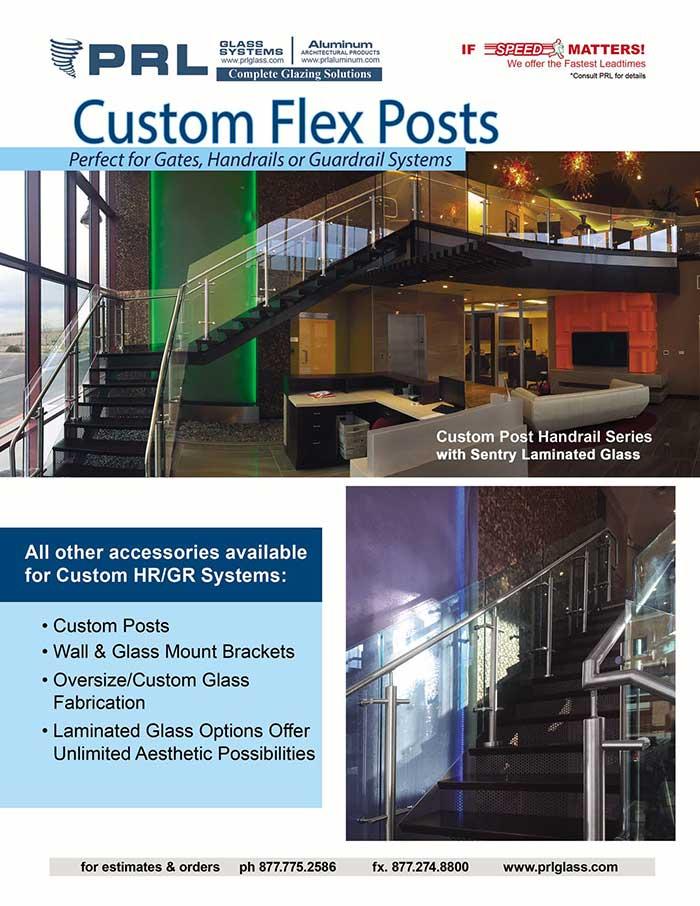 Custom Handrail Flex Posts