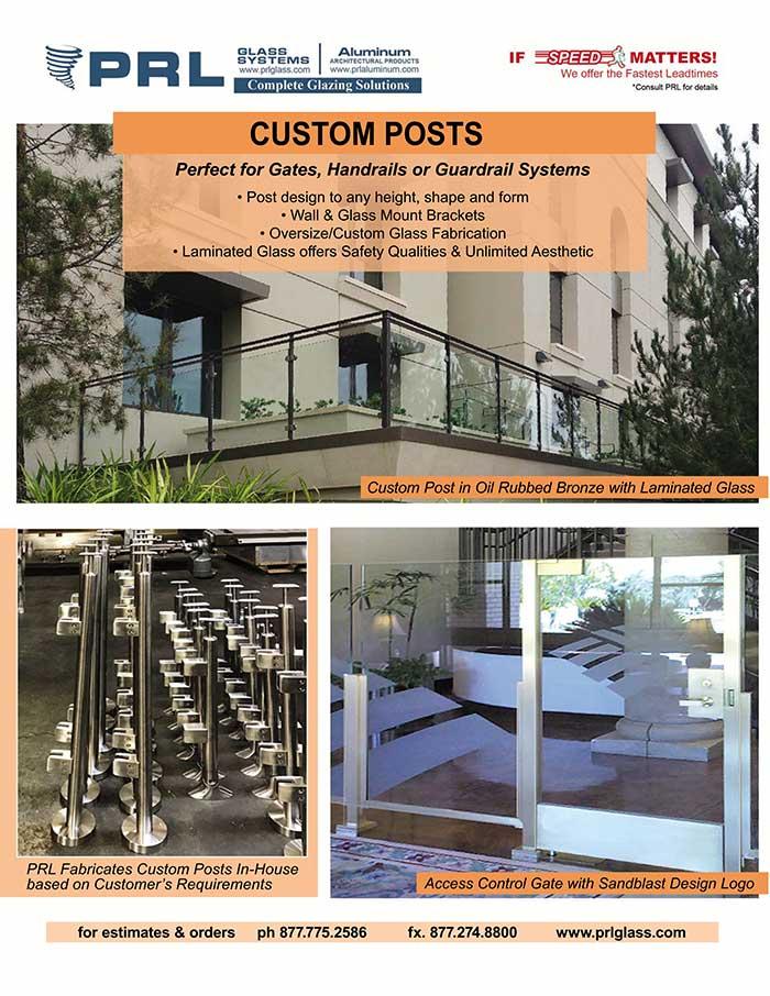 Custom Handrail Posts