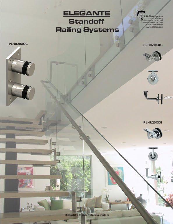 Elegante Stand Off Handrail System