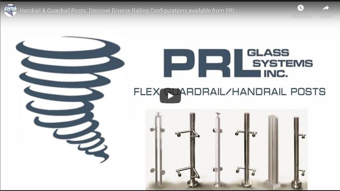 flexible handrail post video