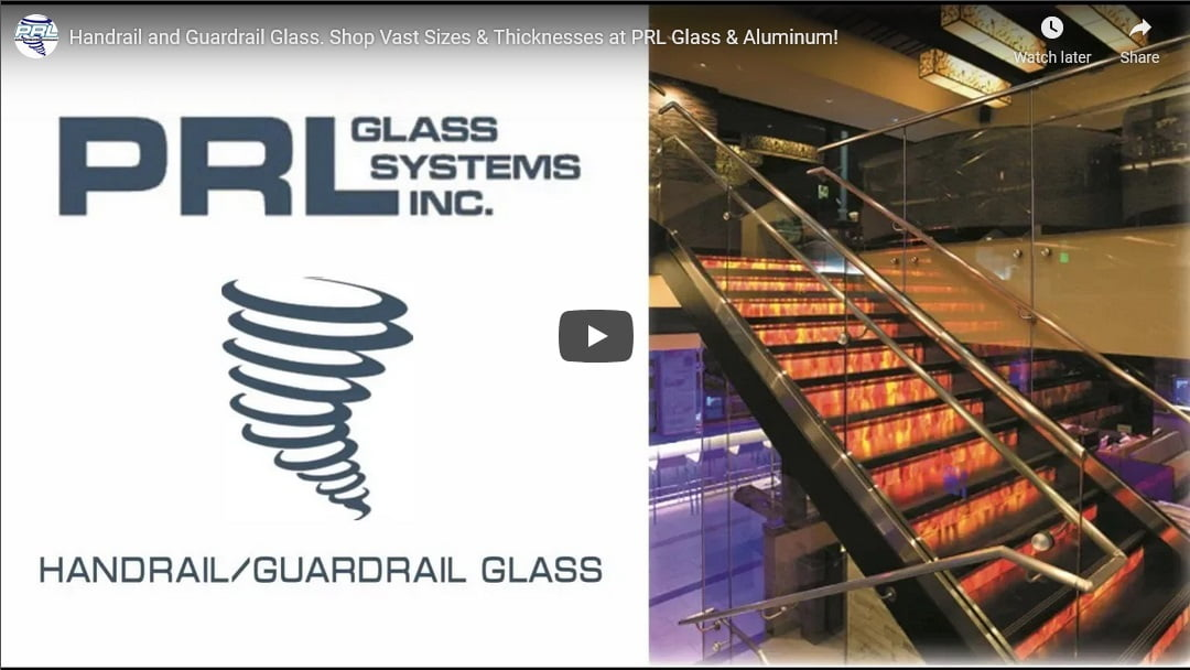 handrail glass video