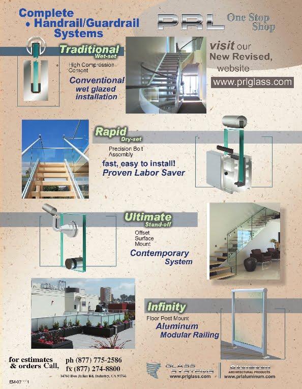 Standard Glass Railing