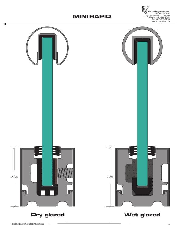 PRL Mini Rapid-Set Handrail System