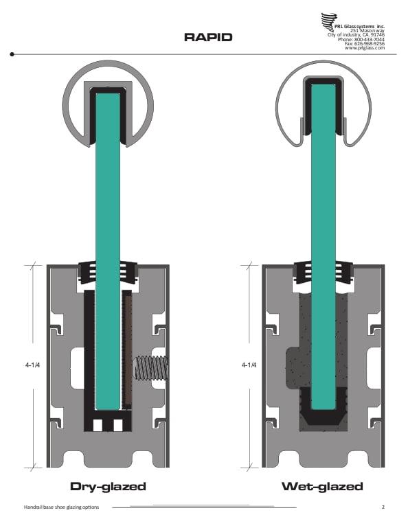 PRL Rapid-Set Handrail System