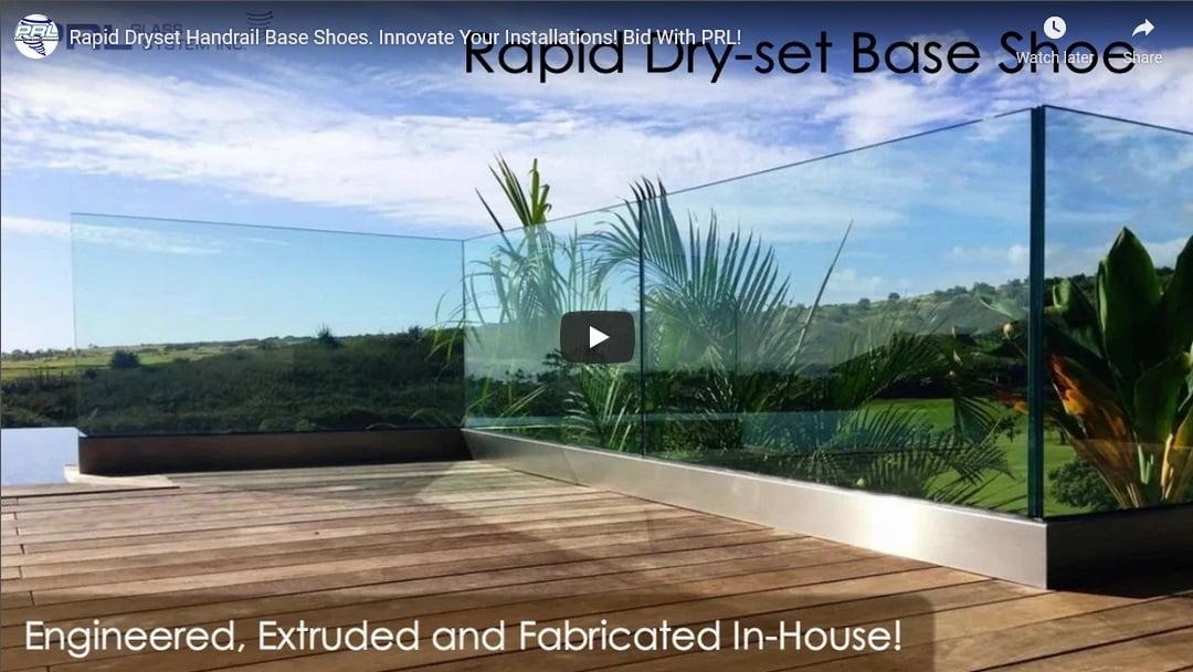 rapid dry set base shoe video