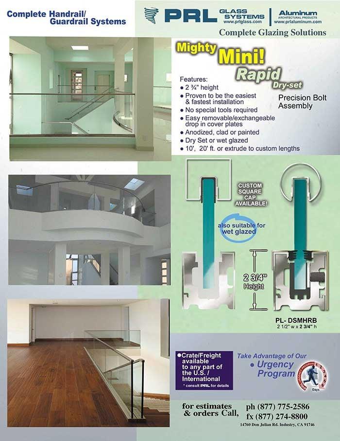 Rapid Glass Handrail System