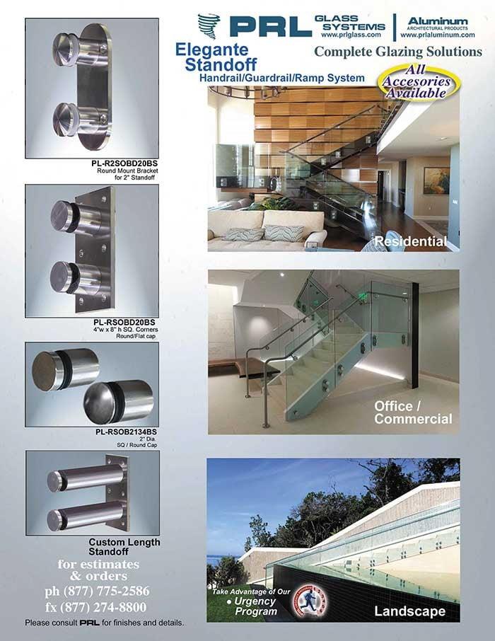 Elegante Standoff Handrail/Guardrail/Ramp Systems